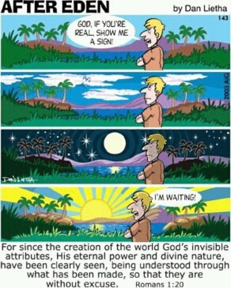 evangelism by God